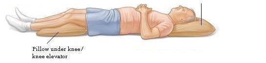 Dormindo de barriga pra cima